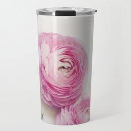 Pink Peonies 2 Travel Mug