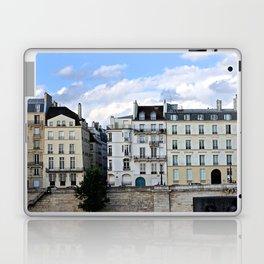 Blues Hue Façades in Paris Laptop & iPad Skin