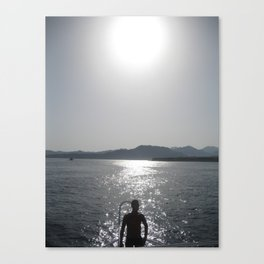 Red Sea, Sharm el Sheikh, Egypt, sunset Canvas Print