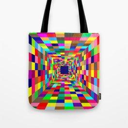 Colors Tunel Tote Bag