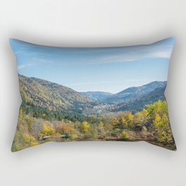 Colorful French valley Rectangular Pillow