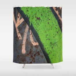 Rustin' piece Shower Curtain