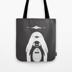 Penguinception Tote Bag