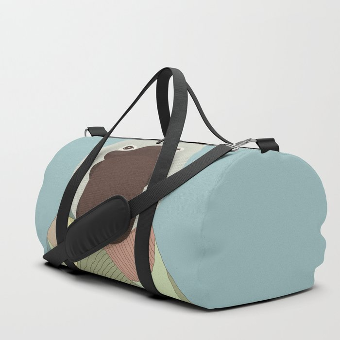 Whimsical Platypus Duffle Bag