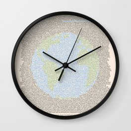 Environmental Consciousness Wall Clock