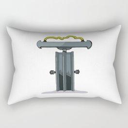 MACHINE LETTERS - T Rectangular Pillow