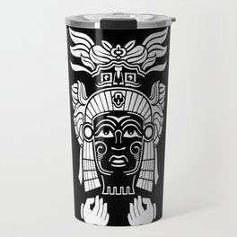 Aztec Priest Travel Mug