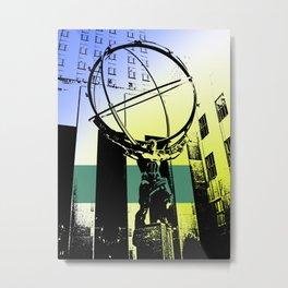 Atlas Metal Print