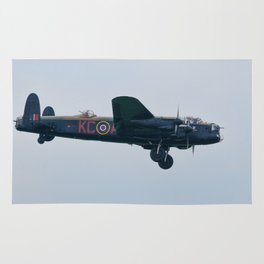 Lancaster on approach Rug