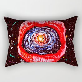 Cosmic Lips 2 Rectangular Pillow