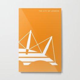 Iconic London: Millennium Dome Metal Print
