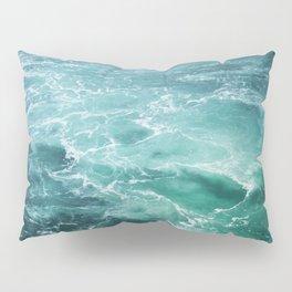Sea Waves   Seascape Photography   Water   Ocean   Beach   Aerial Photography Pillow Sham