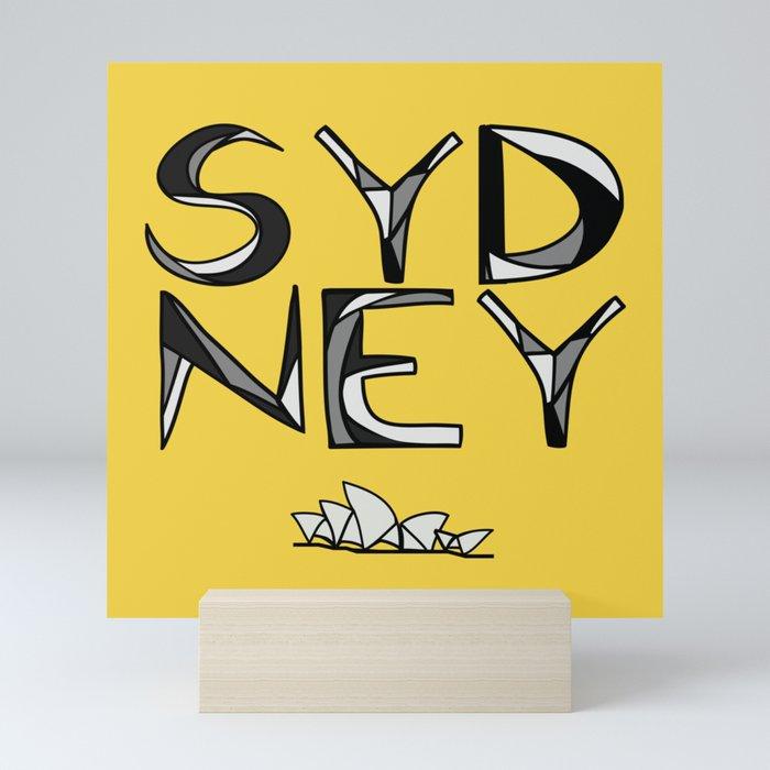 Sydney Love Mini Art Print