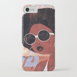 Afro 74 iPhone Case