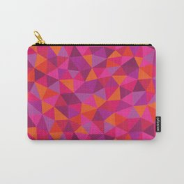 Prismatic Pattern Carry-All Pouch