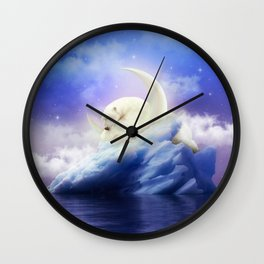 Guard Your Heart. Protect Your Dreams. Wall Clock