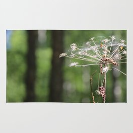 Angelica and forest Rug