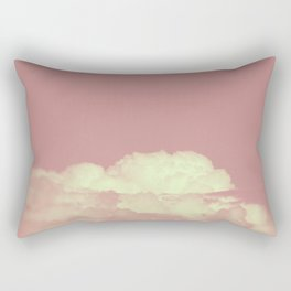 Forever Dreaming of Pink Clouds Rectangular Pillow