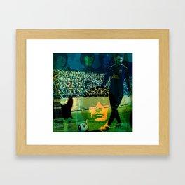 dominantMessitheKiNG Framed Art Print
