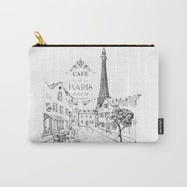 Cafe Paris Carry-All Pouch