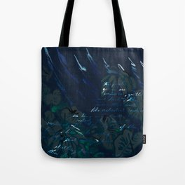 """""""Conquest of the Useless"""" by Werner Herzog Print (v. 6) Tote Bag"""