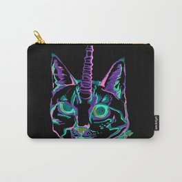 Punk Caticorn Carry-All Pouch