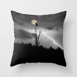 """POTUS Trump has something to crow about: """"There is no collusion"""". Throw Pillow"""