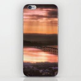 Dundee Railway Bridge iPhone Skin