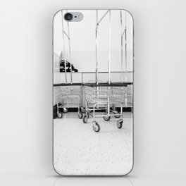At the Laundromat iPhone Skin