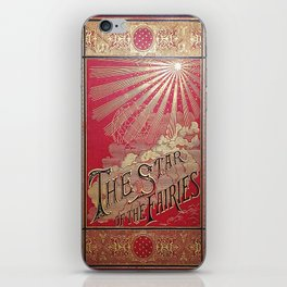The Star of the Fairies Book iPhone Skin