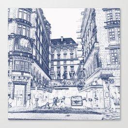 The Savoy Hotel, London Canvas Print