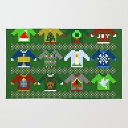 The Ugly 'Ugly Christmas Sweaters' Sweater Design Rug