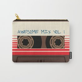 awesome mix vol 1 new hot 2018 CD love cute sticker cover iphone pattern casate art support design Carry-All Pouch