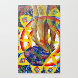Supported Canvas Print