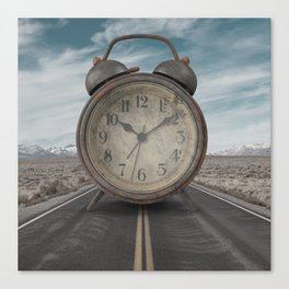 A Matter of Time Surreal Canvas Print