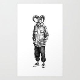 Cabro Art Print