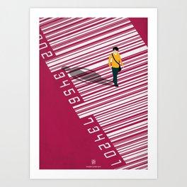 Urban Consumers Art Print