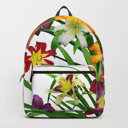 Display of daylilies II Backpack
