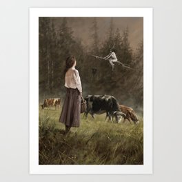 If I only could... Art Print