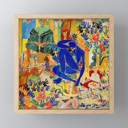 Matisse el Henri Framed Mini Art Print