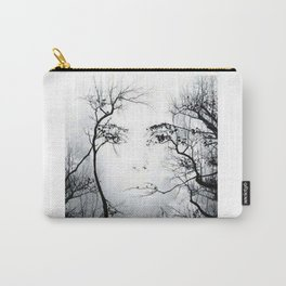 face in the trees Carry-All Pouch