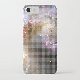 Pixel Nebula iPhone Case