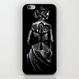 The Woman iPhone Skin