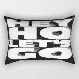 hey ho Rectangular Pillow