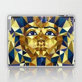 Golden Tutankhamun - Pharaoh's Mask Laptop & iPad Skin
