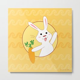 Carrot Time! Metal Print