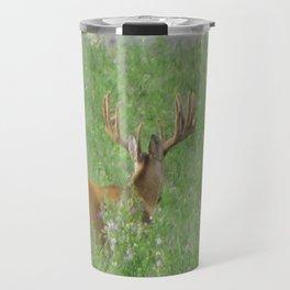 Montana Whitetail Buck Travel Mug
