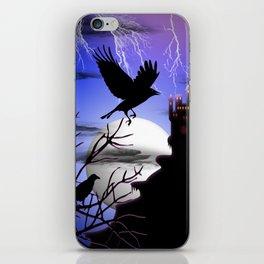 Raven's Haunted Castle iPhone Skin
