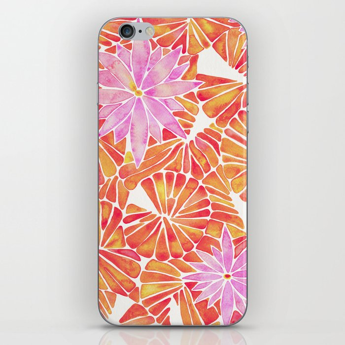 Water Lilies – Melon Palette iPhone Skin