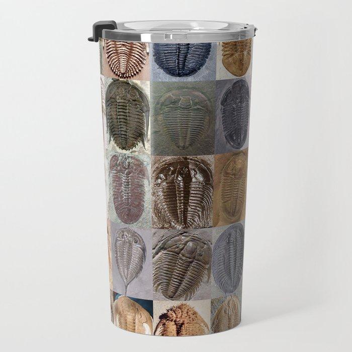 Trilobite Montage Travel Mug
